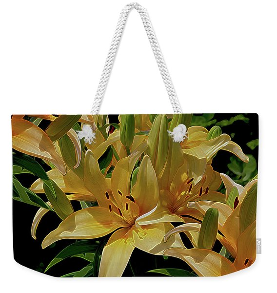 Dreaming Of Lilies Weekender Tote Bag