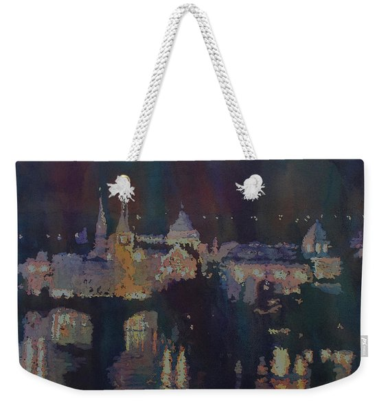 Dreaming Of Prague Weekender Tote Bag