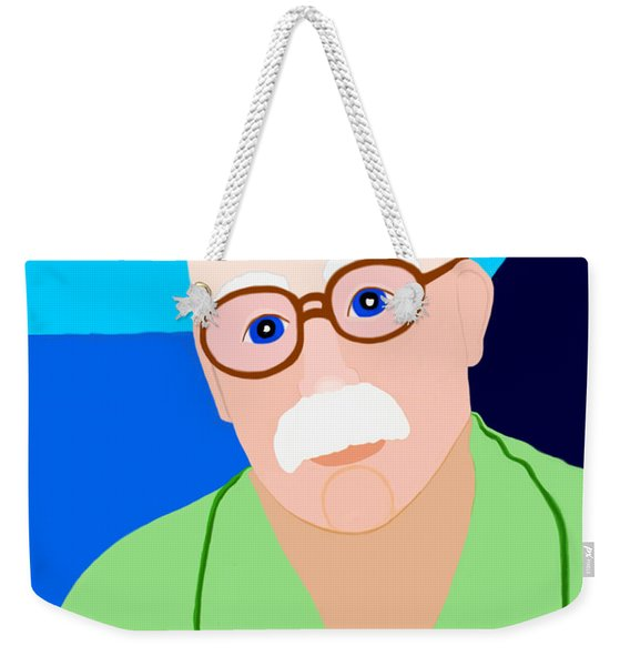 Weekender Tote Bag featuring the painting Dreaming Of Retiring To Hawaii by Marian Cates