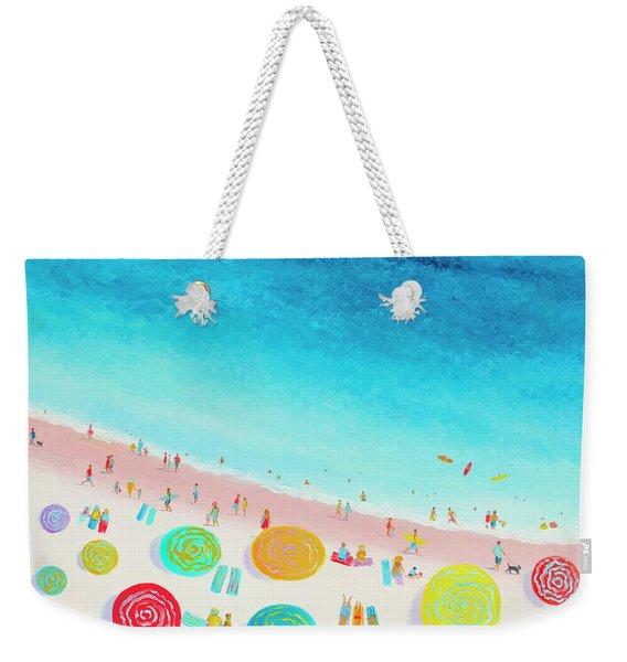 Dreaming Of Sun, Sand And Sea Weekender Tote Bag