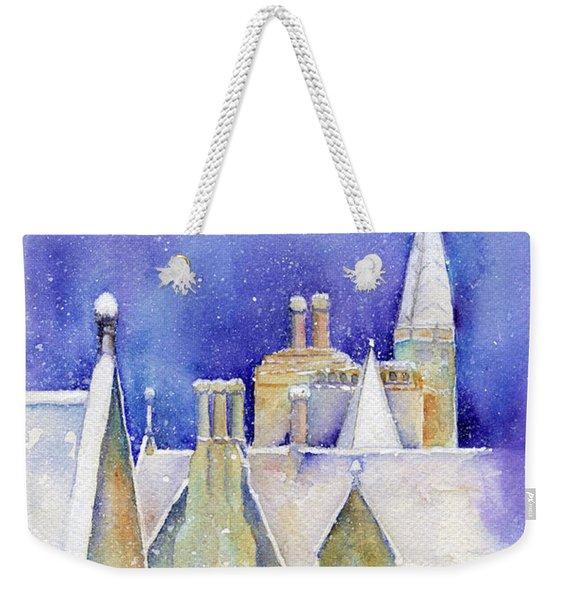 Dreaming Spires Weekender Tote Bag