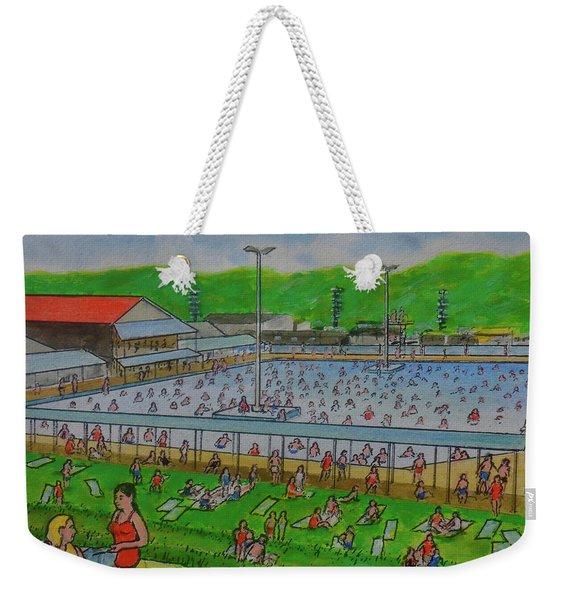 Dreamland Pool Summer 1948 Weekender Tote Bag