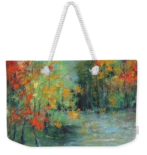 Dreams Of Autumn #1 Paradise On Pontchartrain Weekender Tote Bag