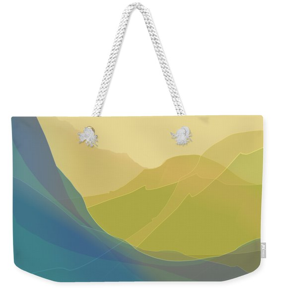 Weekender Tote Bag featuring the digital art Dreamscape by Gina Harrison