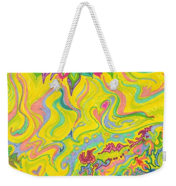 Dreamscaped Swamp-garden 1 Weekender Tote Bag