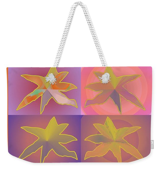 Dreamtime Starbirds Weekender Tote Bag