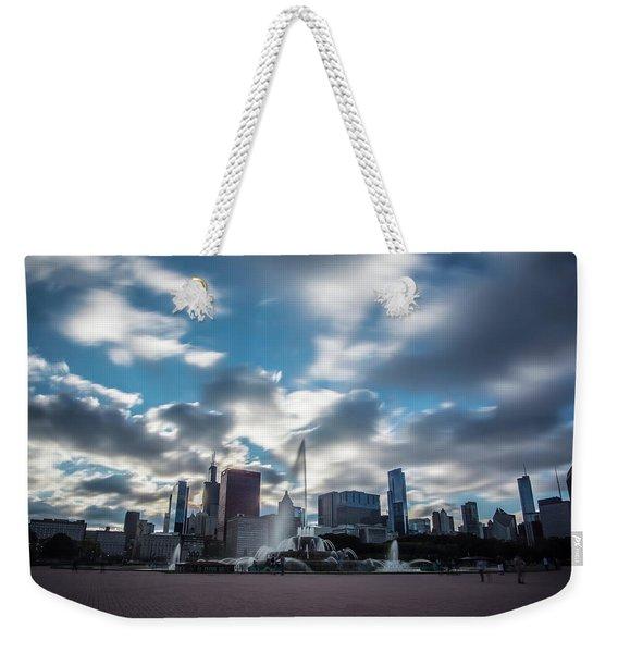 Dreamy Buckingham Fountain Weekender Tote Bag