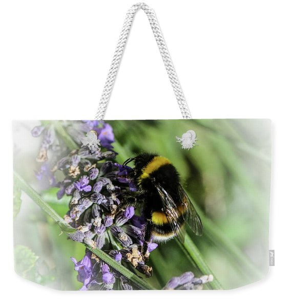 Dreamy Bumble Bee Weekender Tote Bag
