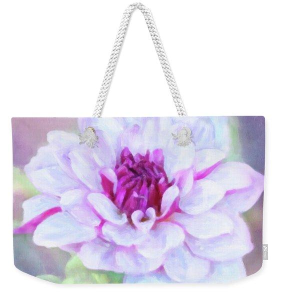 Dreamy, Delightful Dahlia Weekender Tote Bag