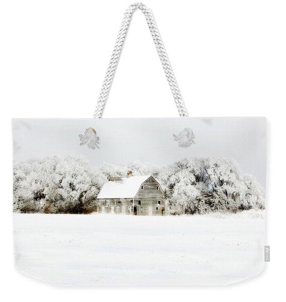 Dressed In White Weekender Tote Bag