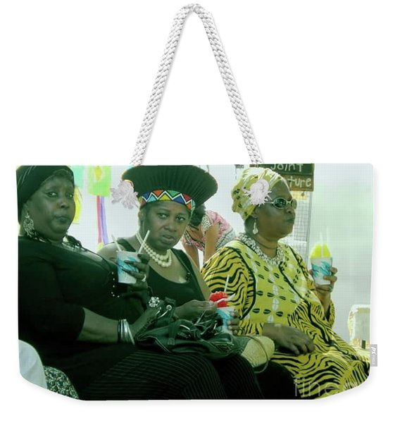Dressed To The Nines Weekender Tote Bag