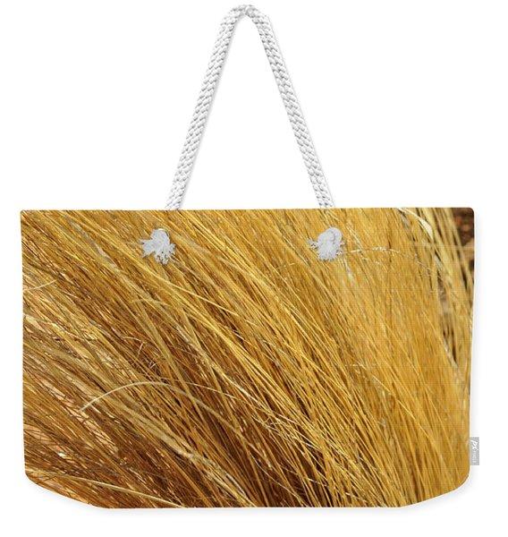 Dried Grass Weekender Tote Bag