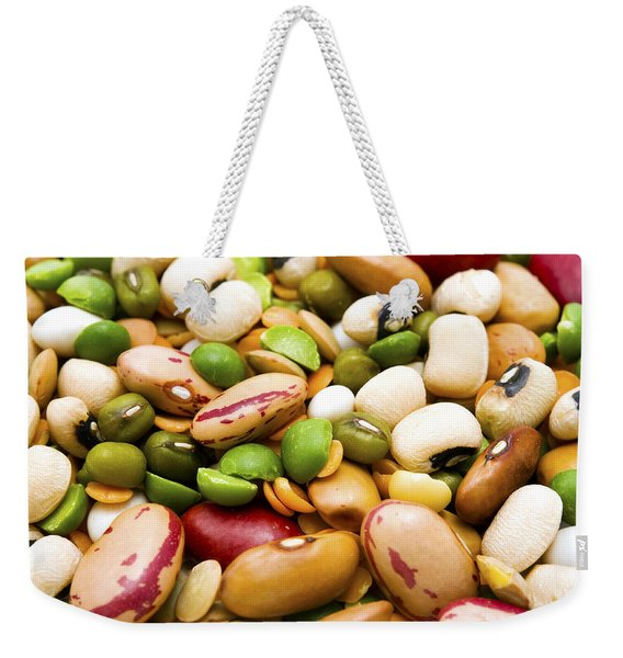 Dried Legumes And Cereals Weekender Tote Bag