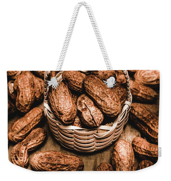 Dried Whole Peanuts In Their Seedpods Weekender Tote Bag