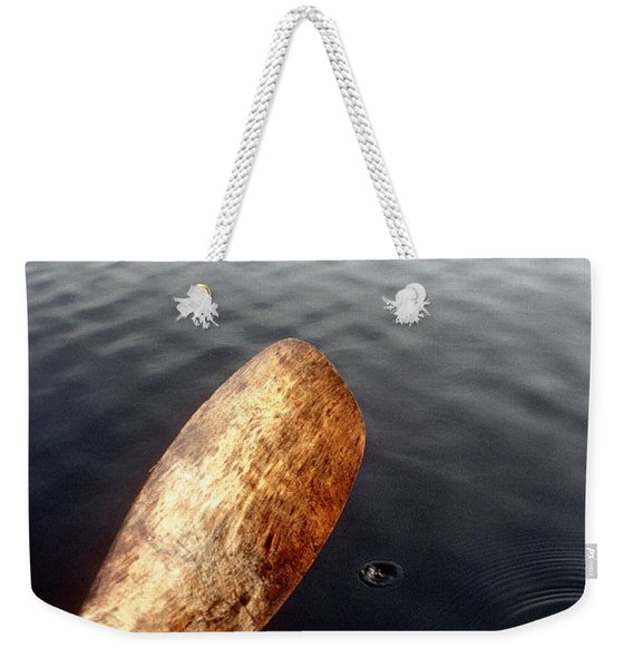 Weekender Tote Bag featuring the photograph Drifting  by Doug Gibbons