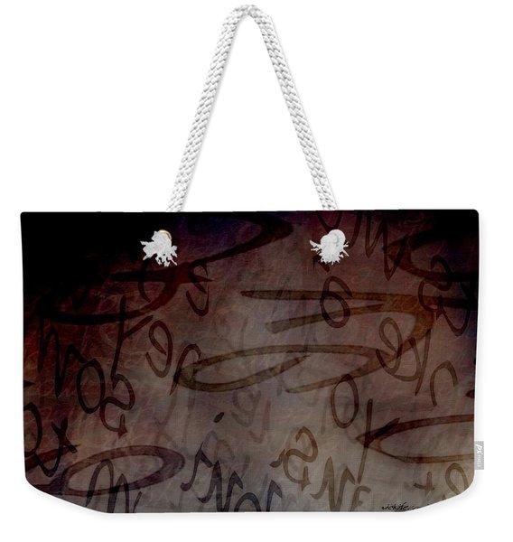 Drifting Expressions Weekender Tote Bag