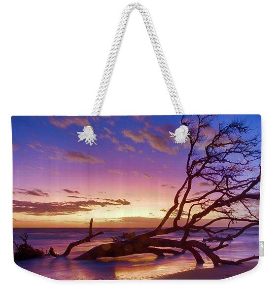 Driftwood Beach 1 Weekender Tote Bag