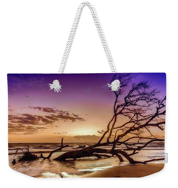 Driftwood Beach 2 Weekender Tote Bag