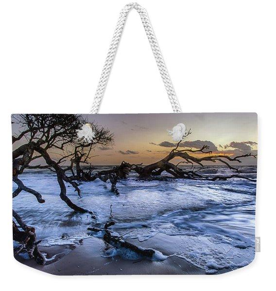 Driftwood Beach 3 Weekender Tote Bag