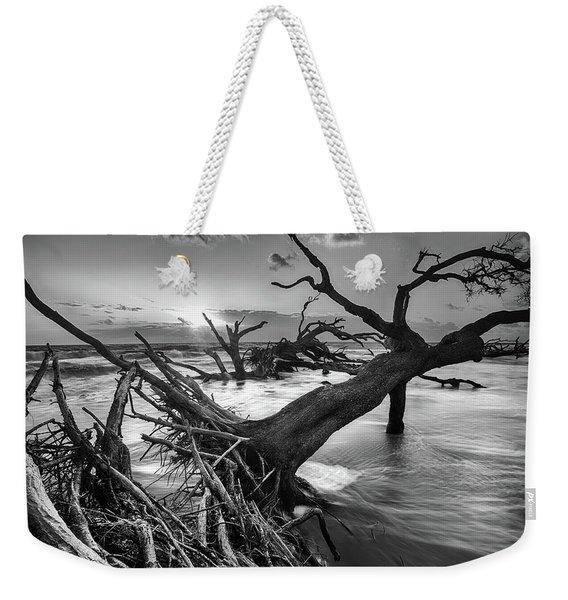 Driftwood Beach 8 Weekender Tote Bag