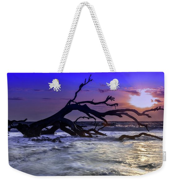 Driftwood Beach 9 Weekender Tote Bag