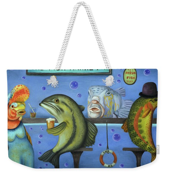 Drink Like A Fish Weekender Tote Bag