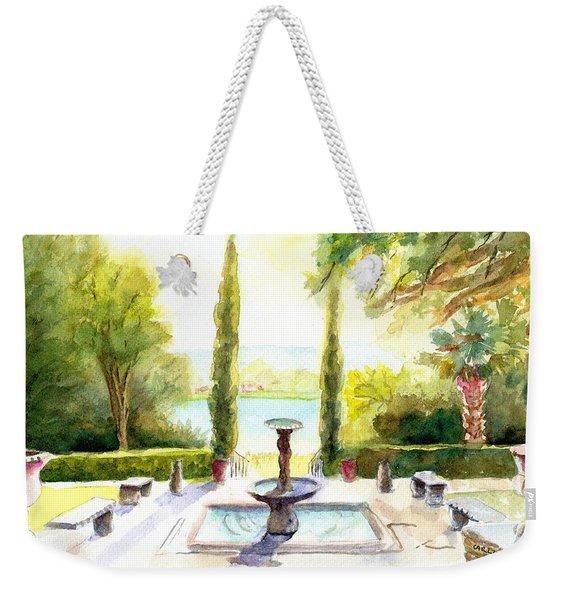 Driscoll Villa Laguna Gloria Weekender Tote Bag