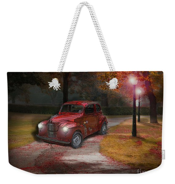 Driven By Memories Weekender Tote Bag