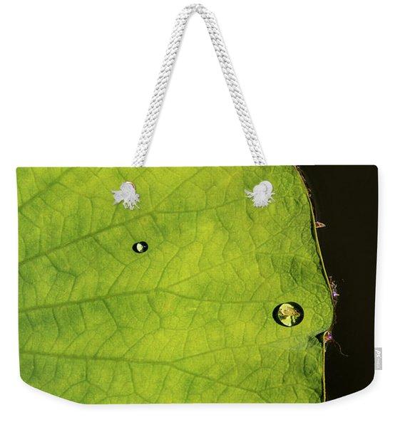 Drops Weekender Tote Bag