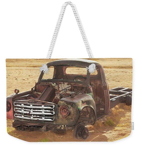 Drought And '51 Studebaker Weekender Tote Bag