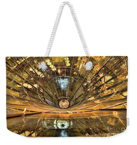 Drowning In Reflections Weekender Tote Bag