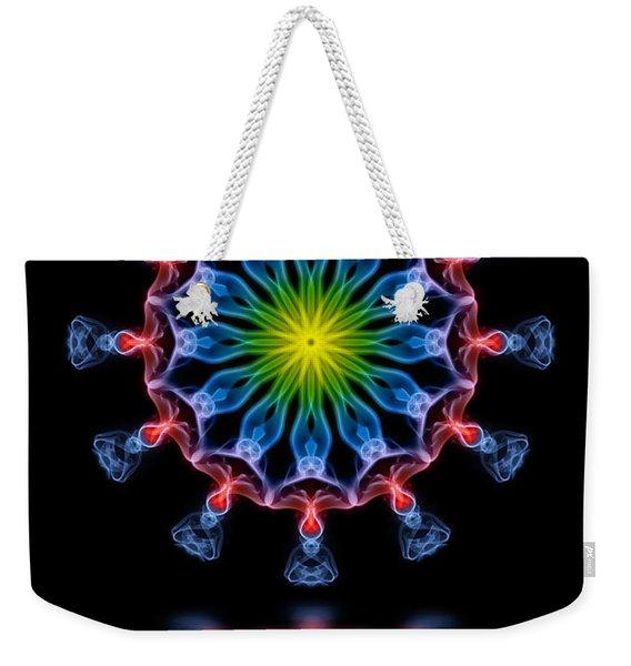 Drum Circle Weekender Tote Bag