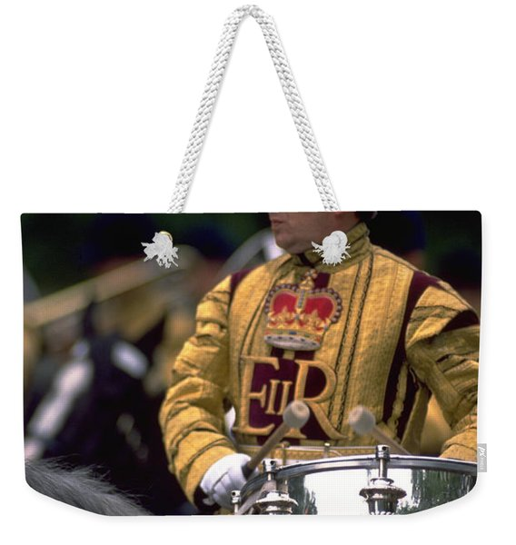 Drum Horse At Trooping The Colour Weekender Tote Bag