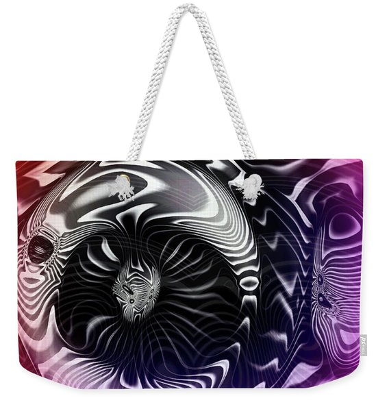 Drunk Owl Bar Weekender Tote Bag