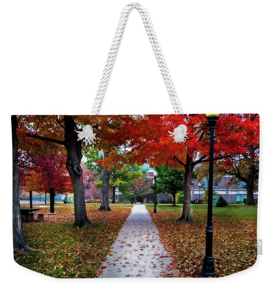 Drury Fall Weekender Tote Bag