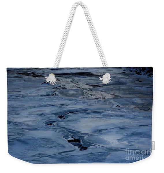 Dry Fork Freeze Weekender Tote Bag