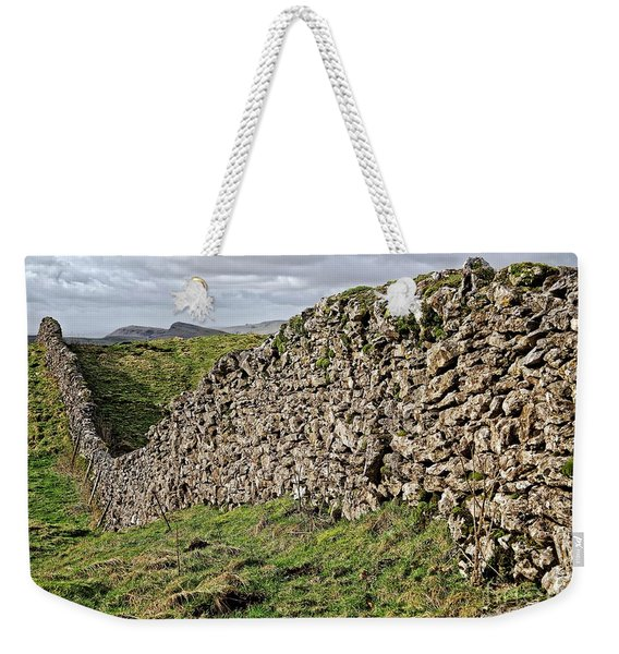 Dry Stone Wall In The Yorkshire Dales Weekender Tote Bag