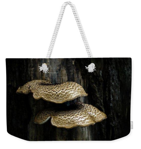Dryads Saddle Fungi Weekender Tote Bag