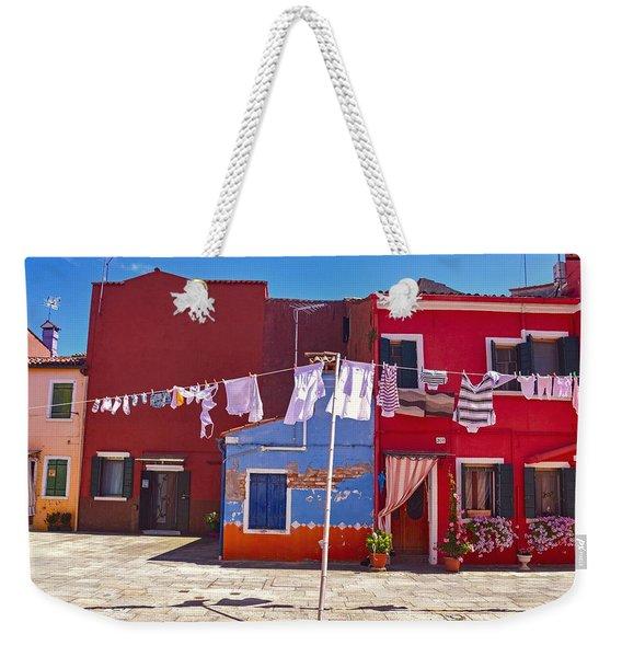 Drying Time Weekender Tote Bag
