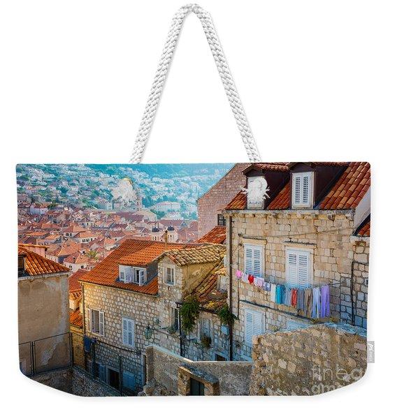 Dubrovnik Clothesline Weekender Tote Bag