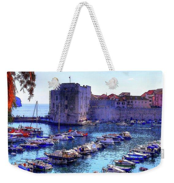 Dubrovnik Harbour Weekender Tote Bag
