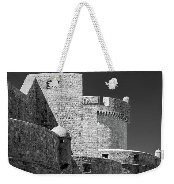 Dubrovnik Old Town Walls Weekender Tote Bag