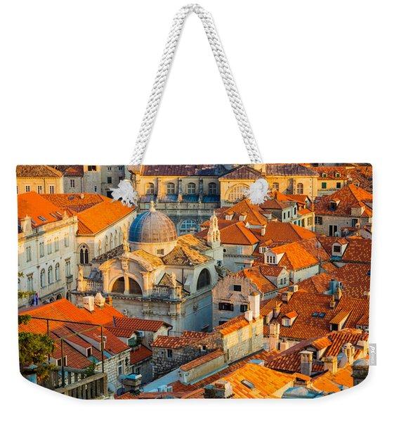 Dubrovnik Sunset Weekender Tote Bag