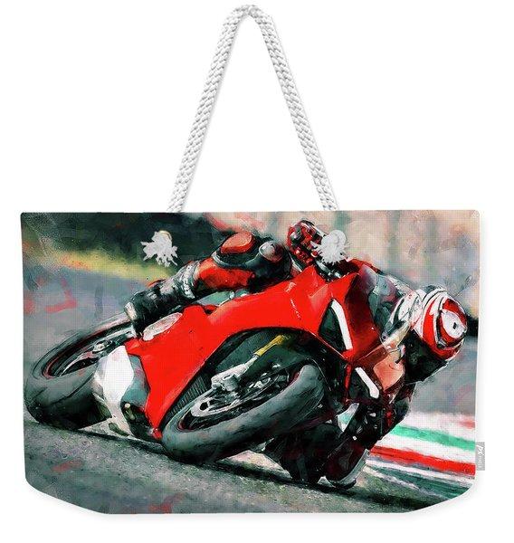 Ducati Panigale V4 - 01 Weekender Tote Bag