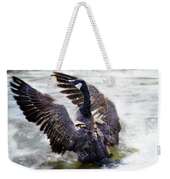 Duck Conductor Weekender Tote Bag