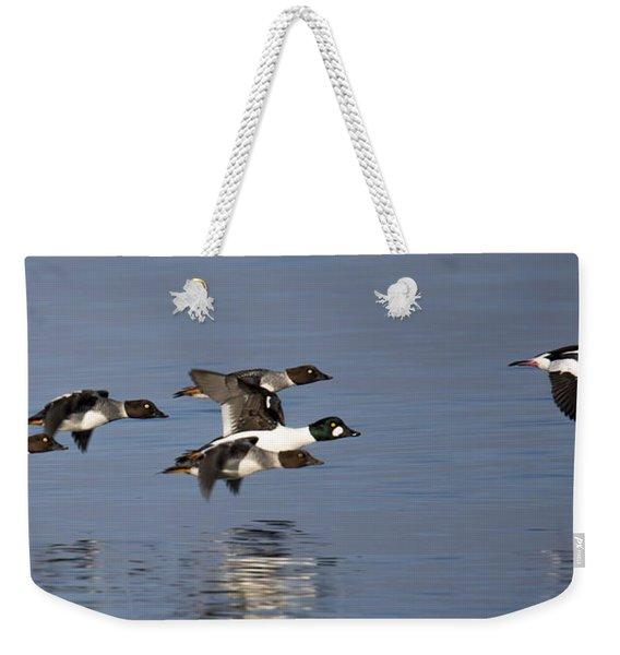 Duckin Out Weekender Tote Bag