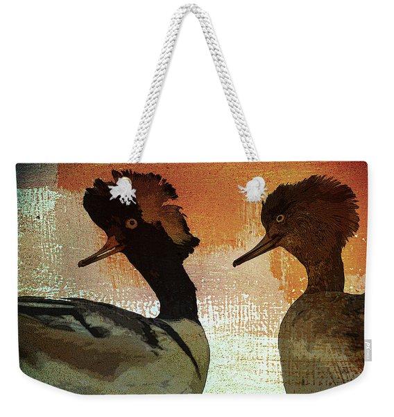Duckology Weekender Tote Bag
