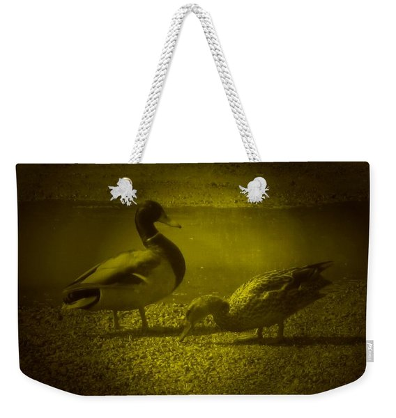 Ducks #3 Weekender Tote Bag