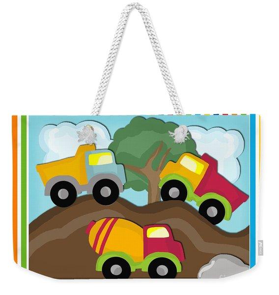 Dump Trucks Weekender Tote Bag