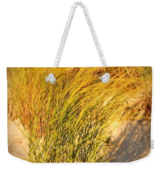 Dune Grass II  - Jersey Shore Weekender Tote Bag